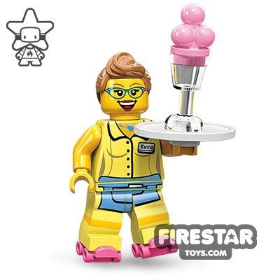 LEGO Minifigures - Diner Waitress
