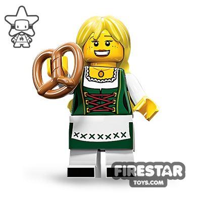 LEGO Minifigures - Pretzel Girl