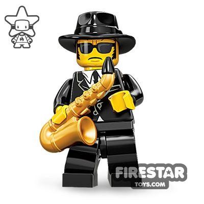 LEGO Minifigures - Saxophone Player