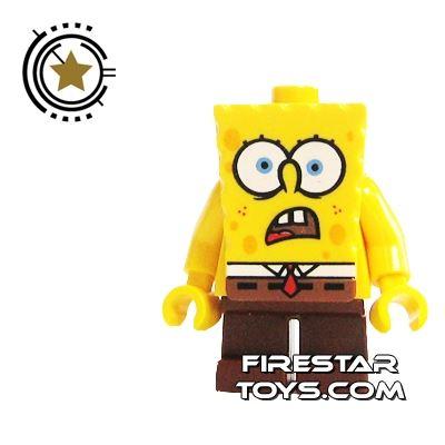 LEGO Spongebob Mini Figure - Spongebob Shocked