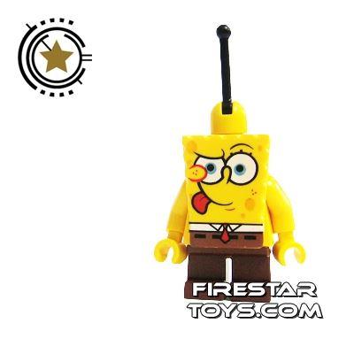 LEGO Spongebob Mini Figure - Spongebob Tongue Out