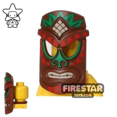 LEGO Island Warrior Tribal Mask