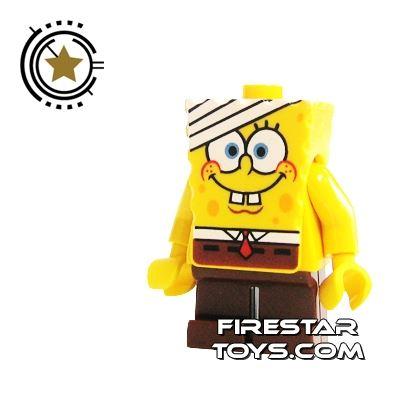 LEGO Spongebob Mini Figure - Spongebob Bandage