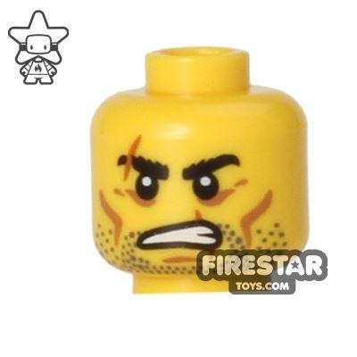 LEGO Mini Figure Heads - Barbarian