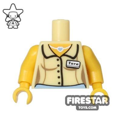 LEGO Mini Figure Torso - Diner Waitress Shirt