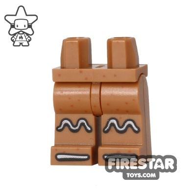 LEGO Mini Figure Legs - Gingerbread Man