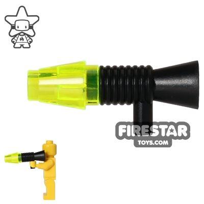 LEGO Gun - Blaster Gun - Trans Yellow