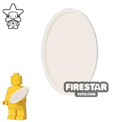 LEGO - Oval Tray - White
