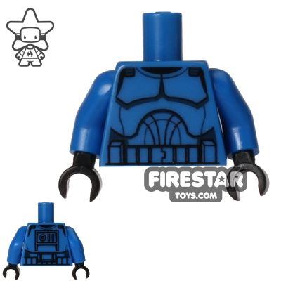 LEGO Mini Figure Torso - Clone Trooper - Blue