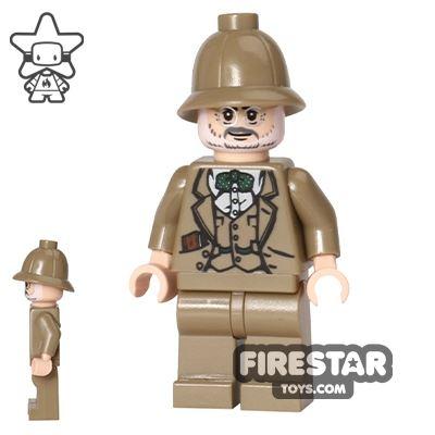 LEGO Indiana Jones Mini Figure - Henry Jones Sr