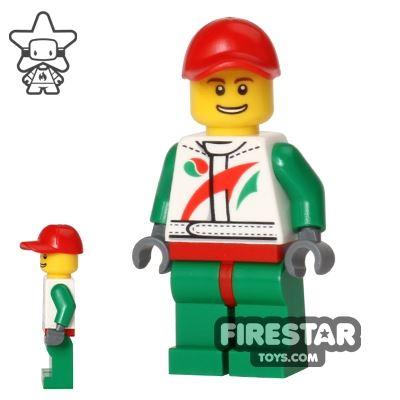 LEGO City Mini Figure - Race Car Mechanic 1