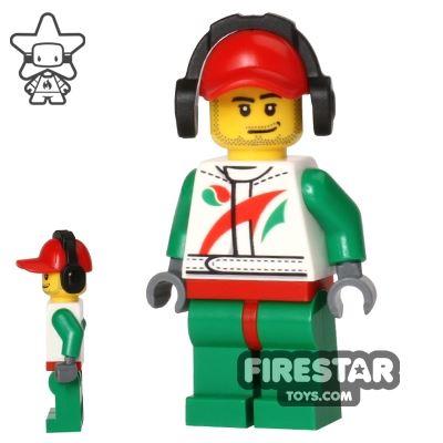 LEGO City Mini Figure - Race Car Mechanic 2