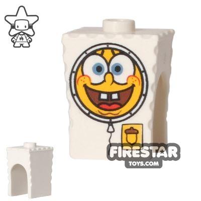 LEGO Mini Figure Heads - SpongeBob SquarePants - Spacesuit