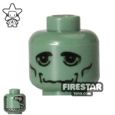 LEGO Mini Figure Heads - Frankensteins Monster