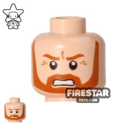 LEGO Mini Figure Heads - Obi-Wan Kenobi - Frown