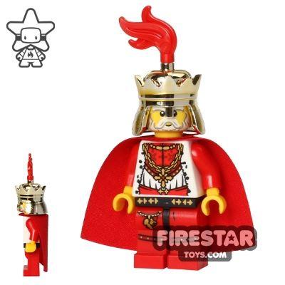 LEGO Castle - Kingdoms - Lion King - Plume