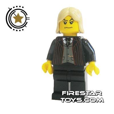 LEGO Harry Potter Mini Figure - Lucius Malfoy Black Suit