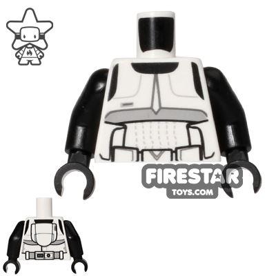 LEGO Mini Figure Torso - Scout Trooper Armour