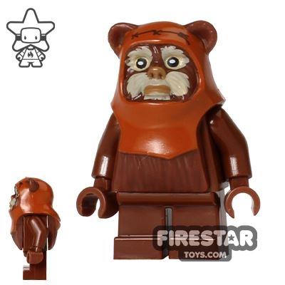 LEGO Star Wars Mini Figure - Ewok Wicket - Tan Face Paint