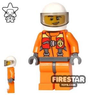 LEGO City Mini Figure - Coast Guard City - Helicopter Pilot