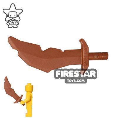 LEGO - Scimitar Sword - Copper