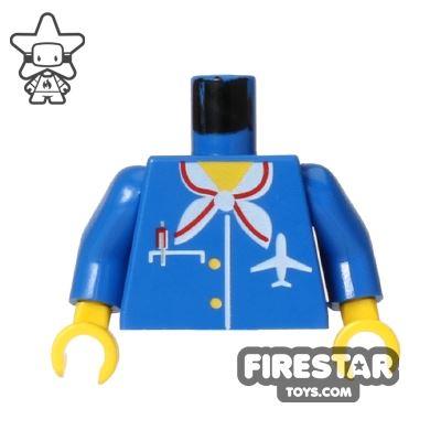 LEGO Mini Figure Torso - Air Hostess