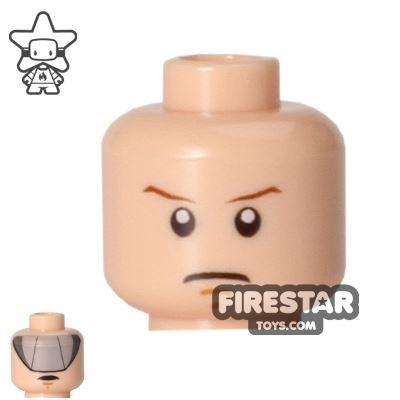 LEGO Mini Figure Heads - Luke Skywalker - Gray Visor
