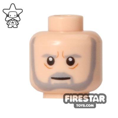 LEGO Mini Figure Heads - Obi-Wan Kenobi - Old