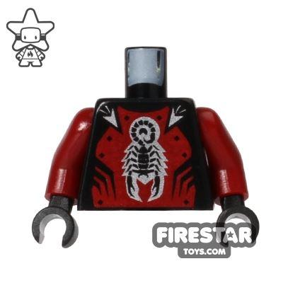 LEGO Mini Figure Torso - Castle Shadow Knight