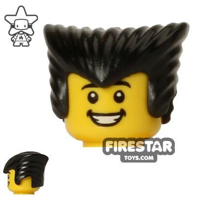 LEGO Hair - Vampire - Black