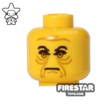 LEGO Mini Figure Heads - Star Wars - Emperor Palpatine