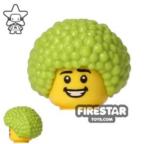 LEGO Hair - Afro - Lime