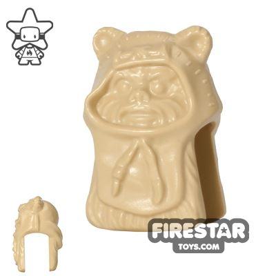 LEGO Mini Figure Heads - Ewok - Tan