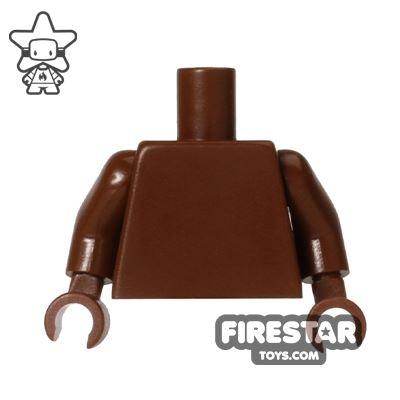 LEGO Mini Figure Torso - Plain Brown