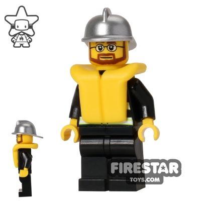 LEGO City Mini Figure – Fire - Life Jacket 2