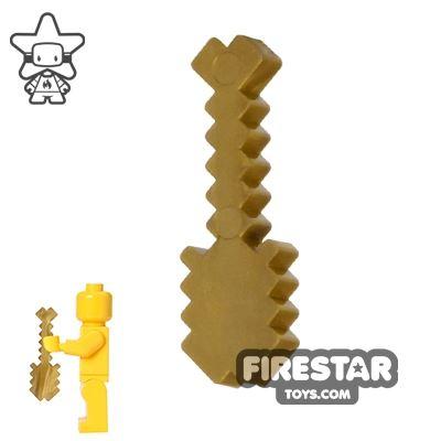 BrickTactical - Minecraft Shovel - Metallic Gold