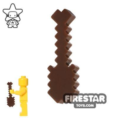 BrickTactical - Minecraft Shovel - Dark Brown
