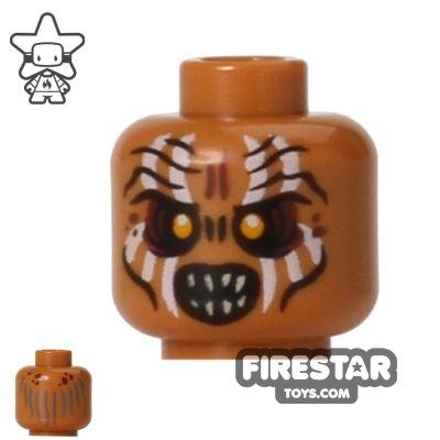 LEGO Mini Figure Heads - Gundabad Orc