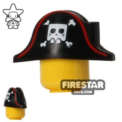 LEGO Pirate Captain Bicorne Skull and Crossbones