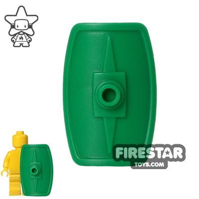 BrickWarriors - Scutum Shield - Green
