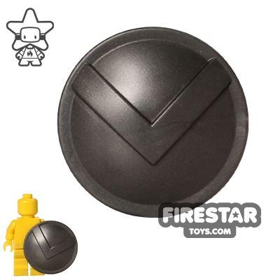 BrickWarriors - Spartan Shield - Steel