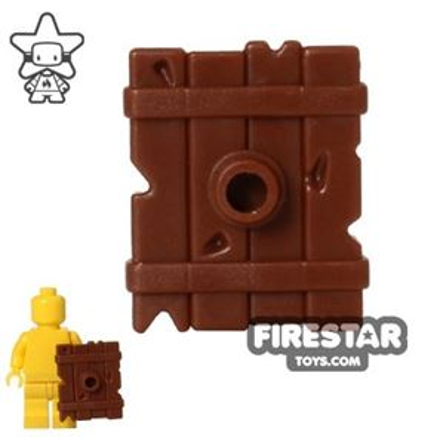 BrickWarriors - Goblin Shield - Brown