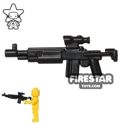 BrickWarriors - Enhanced Warrior Rifle - Black