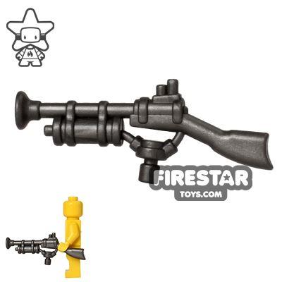 BrickWarriors - Steampunk Rifle - Steel