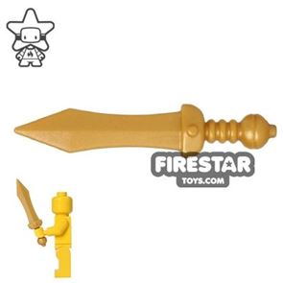 BrickWarriors - Gladius - Pearl Gold