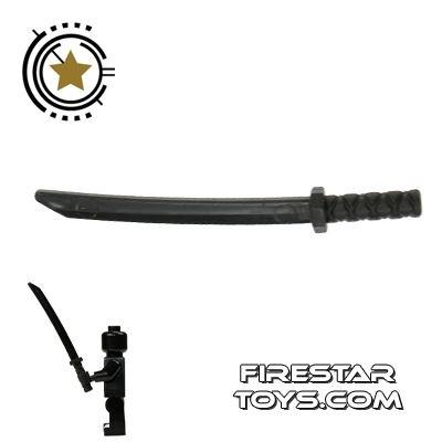 LEGO - Ninja Samurai Sword - Octagonal Guard - Black
