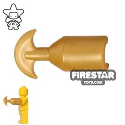 BrickWarriors - Scissor - Pearl Gold