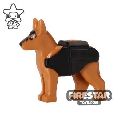 SI-DAN - Armoured Dog Vest - Black