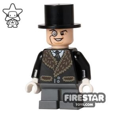 LEGO Super Heroes Mini Figure - The Penguin - Fur Coat