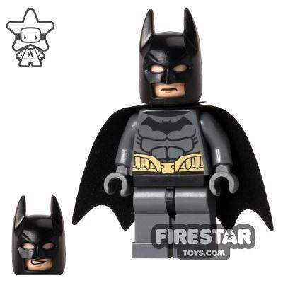 LEGO Super Heroes Mini Figure - Batman - Dark Blueish Gray Suit